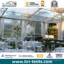 Luxuriöses transparentes Festzelt für Veranstaltungen im Freien, klares Zelt für Hochzeiten