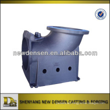 Cast steel sand casting hydraulic pump housing