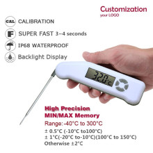 High Accuracy Waterproof Digital meat Thermometer Handheld for Food Drinks Meat coffee Oven Grill