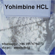 Natural Male Enhancement Powder Yohimbine Hydrochloride CAS 65-19-0 Yohimbine HCl