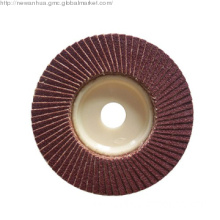 Flap Disc with Plastic Backer