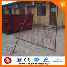 6'x10' PVC Coated Canada Temporary Construction Fencing For Special Events