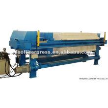 Presse-filtre à chambre de fermeture hydraulique automatique conçue pour différents clients de la presse-filtre Leo