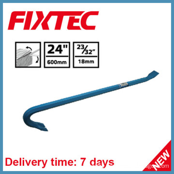 "Fixtec Hand Tool Carbon Steel 24"" Wrecking Bar Pry Bar"