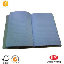Impressão de couro promocional de luxo presente notebook