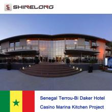 Senegal Terrou-Bi Daker Hotel Kasino Marina Küche Projekt