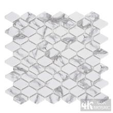 C&K Mosaic Hexagon Glass Мозаика Backsplash Кухня
