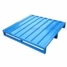 Kundenspezifische Lagerlager Stapelbare Metall-Hochleistungs-Stahlpalette