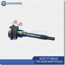 NHR / NKR Top Gear Shaft Z = 28: 36 8-97177-683-0
