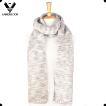 2016 New Multicolor Space Dyed Yarn Tricot Long Scarf