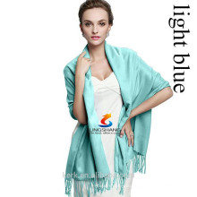 2015 сплошной цвет кулон шарфы Мода кисточка шарф пашмины кашемира платок Wrap девочек дамы шарф аксессуары 40Цветы