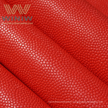 Custom Wholesale  High Quality Multicolor PU Synthetic Leather Fabric For Basketball