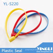 Selo de segurança plástico comprimento fixo 14x30