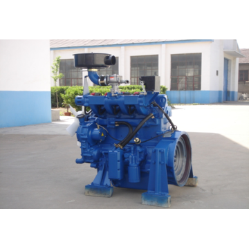 4 Cylinder Gas Engine with Single Shaft And Mixture And Ignition System