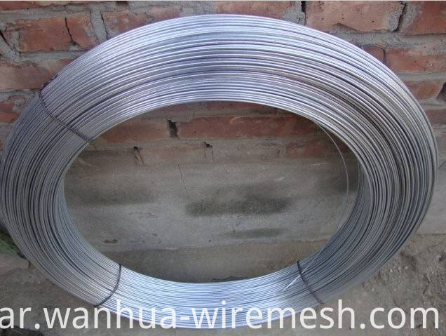 4mm Low Carbon Steel Wire Galfan Wire