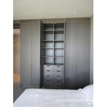 Home Furniture Bedroom Wood Swing Door Classic Almirah