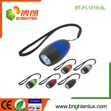 Fabrik nach Maß mehrfarbige Tasche CR2032 Knopf-Zelle verwendetes Aluminium-Material preiswerte Massen-geführte Minitaschenlampen für Förderung