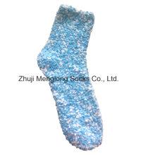 Dame Chenille Garn Fuzzy Boden Socken
