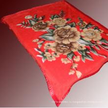 100% полиэфир одеяло норки на продажу