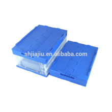 Eco friendly material Foldable clear plastic packing box