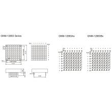 1,2 дюйма, панель 3,0X3,0 (GNM-12883Ax-Bx)