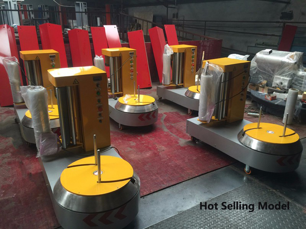 luggage wrapping machine price