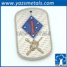YAZS Design gratuit étiquettes chien métal