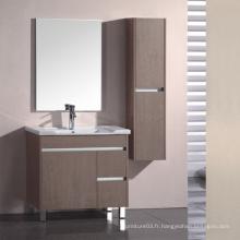 Vanité de salle de bain en mélamine avec bonne qualité (SW-ML154)