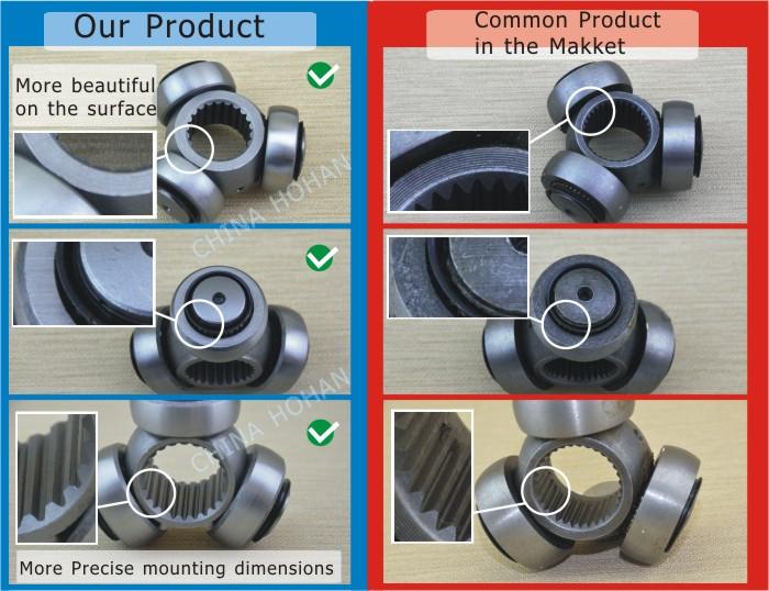 Auto Axle Accessory Tripod Joints