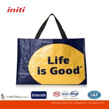 Verkäufe Qualitäts-kundengebundene Werbung PP gesponnene Beutel für Einkaufen