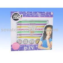 self-chambering bangle bracelet toy