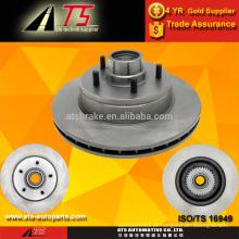 Rotores de discos de freio de carro OEM para peças de carro do grupo GM