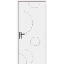 Puerta de madera sólida de la alta calidad de la venta caliente con diseño de la manera