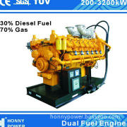 Dual Fuel Generators for Power Plant Use