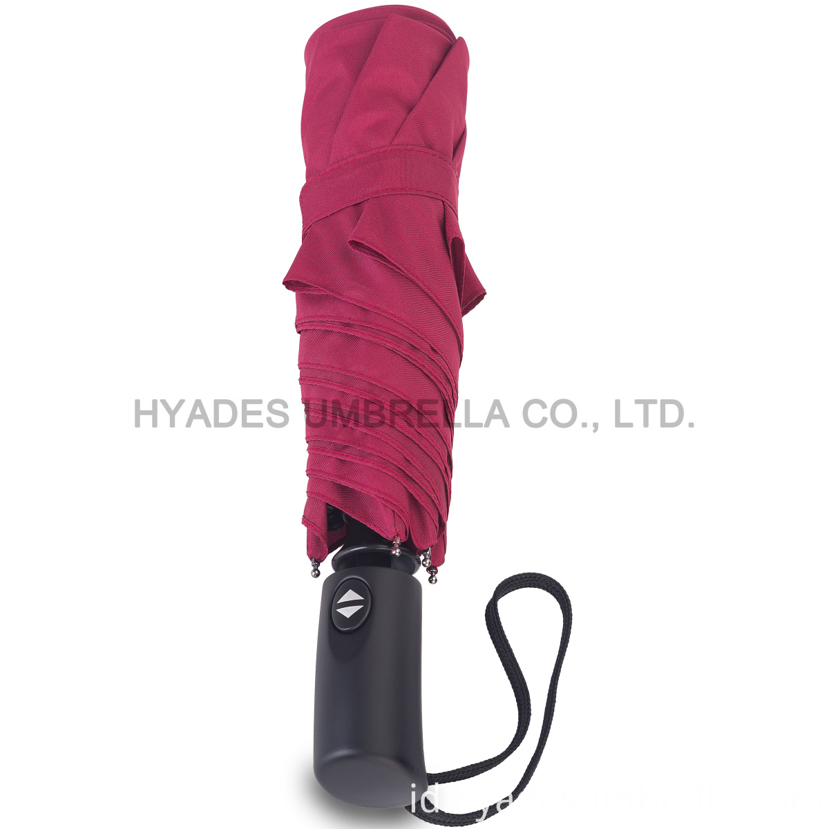 3 section auto open and close folding umbrella
