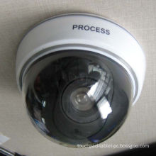 Small White High Tech Security Dummy Dome Wireless Ip Cameras With Switchable On / Off Led