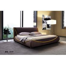 Coffee Color Cloth Bed Comfort