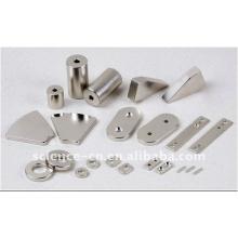 Специальные формы неодимовый магнит с никелевым покрытием