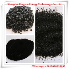 antracita de 0,9 mm de tamaño de carbón activado en forma de columna para la eliminación de h2s