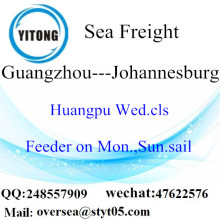 Guangzhou Port LCL Consolidation To Johannesburg