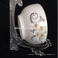 Mikrowelle und Geschirrspüler Sicherheit Keramik Reis Bogen