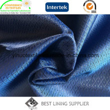 100 Polyester Classic Small Jacquard Lining Two Tone Soft Shiny Lining for Cloth