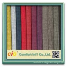Brocart tissu d'ameublement utilisé pour rideau, coussin, vêtement.