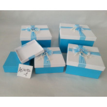 Pretty design paper baby shoe box packing