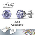 Destiny Jewellery Crystals From Swarovski Macaron Earrings