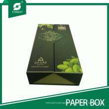 Hochwertige Olivenöl Geschenkbox Verpackung Karton