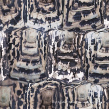 Tecido de lã de impressão personalizada para sobretudo (SZ-040)