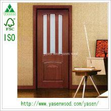 Индивидуальный дизайн деревянных композитных французских дверей