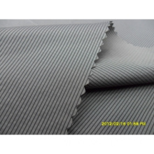300T Polyester/Nylon Mixed Cross Stripe Fabric