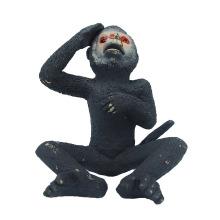 Brinquedos do animal do plástico do macaco